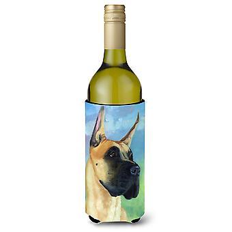 Dog niemiecki Apollo wielką butelkę wina napojów izolator Hugger