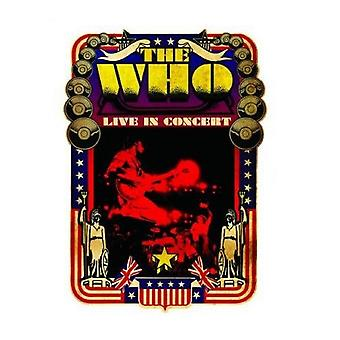 The Who Live In Concert new Official  any occasion Greeting Card