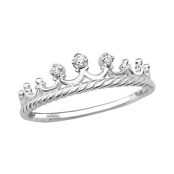 Krone - jeweled 925 Sterling Silber Ringe - W29231x