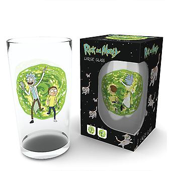 Rick och Morty Portal Pint glas