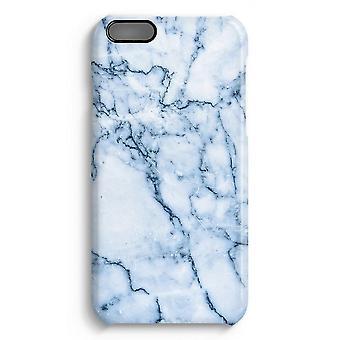 iPhone 6 pluss Full Print saken (glanset) - blå klinkekule
