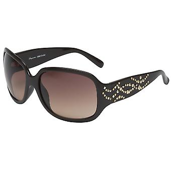 Elegant sunglasses for women by Burgmeister with 100% UV protection | solid polycarbonate frame, high quality sunglasses case, microfiber glasses pouch and 2 years warranty | SBM113-242 Las Vegas