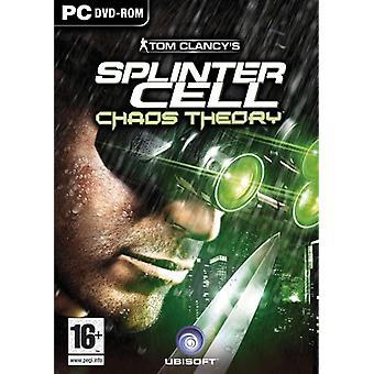Tom Clancys Splinter Cell Chaos Theory (PC)-nieuw
