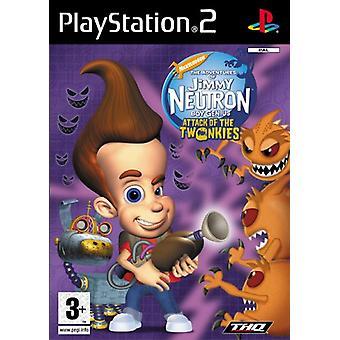 Jimmy Neutron attack av Twonkies (PS2)-fabriken förseglad