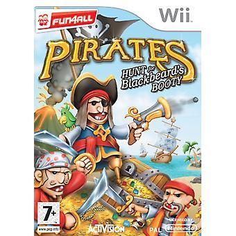 Pirates Hunt voor zwarte baarden buit (Wii)-fabriek verzegeld