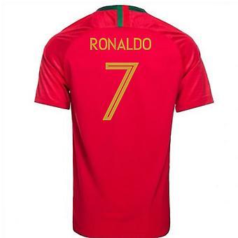 2018-2019 Portugali Kotisivu Nike jalkapallopaita (Ronaldo 7) - lapset