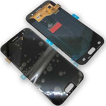 Kompletny zestaw wyświetlacza LCD GH97 black 19732A dla Samsung Galaxy A3 A320F 2017