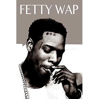 Fetty Wap roken Poster Poster afdrukken
