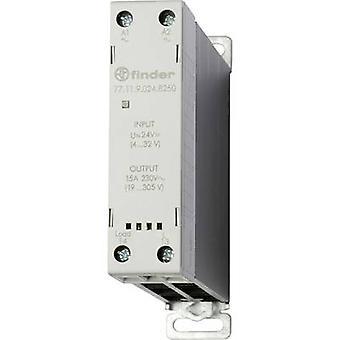 Finder SSR 77.11.9.024.8250 strömbelastning (max.): 15 A Switchspänning (max.): 305 V AC Zero Crossing 1 st (s)