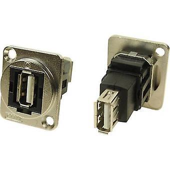 Adaptador XLR USB Una toma 2.0 USB A socket 2.0 Adaptador, CP30208NM incorporado CP30208NM Cliff Contenido: 1 ud(s)