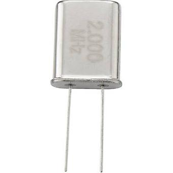 TRU COMPONENTS Quartz crystal 168610 HC-49/US 3.6864 MHz 10 pF (L x W x H) 4.7 x 10.5 x 3.5 mm 1 pc(s)