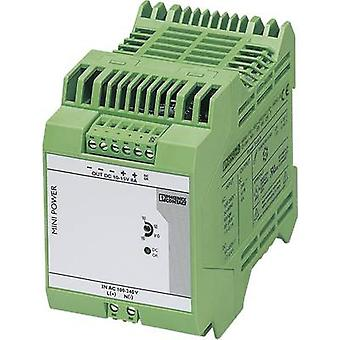 Phoenix Contact MINI-PS-100-240AC/10-15DC/8 trilho montado PSU (DIN) 96 8 W 1 x