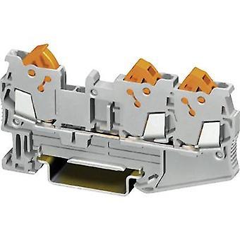 Phoenix Contact QTC 1,5-TWIN 3205048 Kontinuität Anzahl der Pins: 3 0,25 mm ²-1,5 mm ² grau 1 -PC