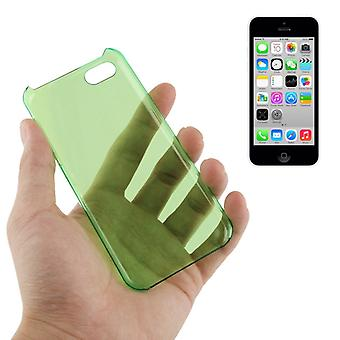 Cover hard case for mobile phone Apple iPhone 5 C Green