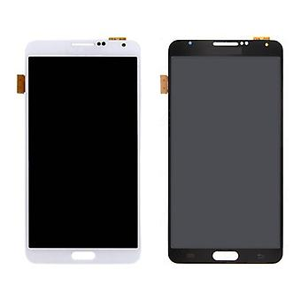 Stuff Certified ® Samsung Galaxy Note 3 N9005 (4G) screen (Touchscreen + AMOLED + Parts) AAA + Quality - Black / White