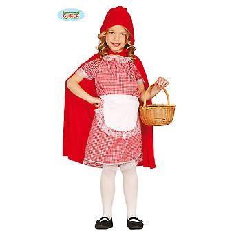 Little Red Riding Hood costume for girls Carnival fairy tale Princess