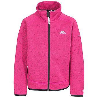 Trespass ragazze Rilla Full Zip Fleece di poliestere calda giacca cappotto