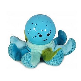 Octopus Luce per la Notte Peluche Azzurro