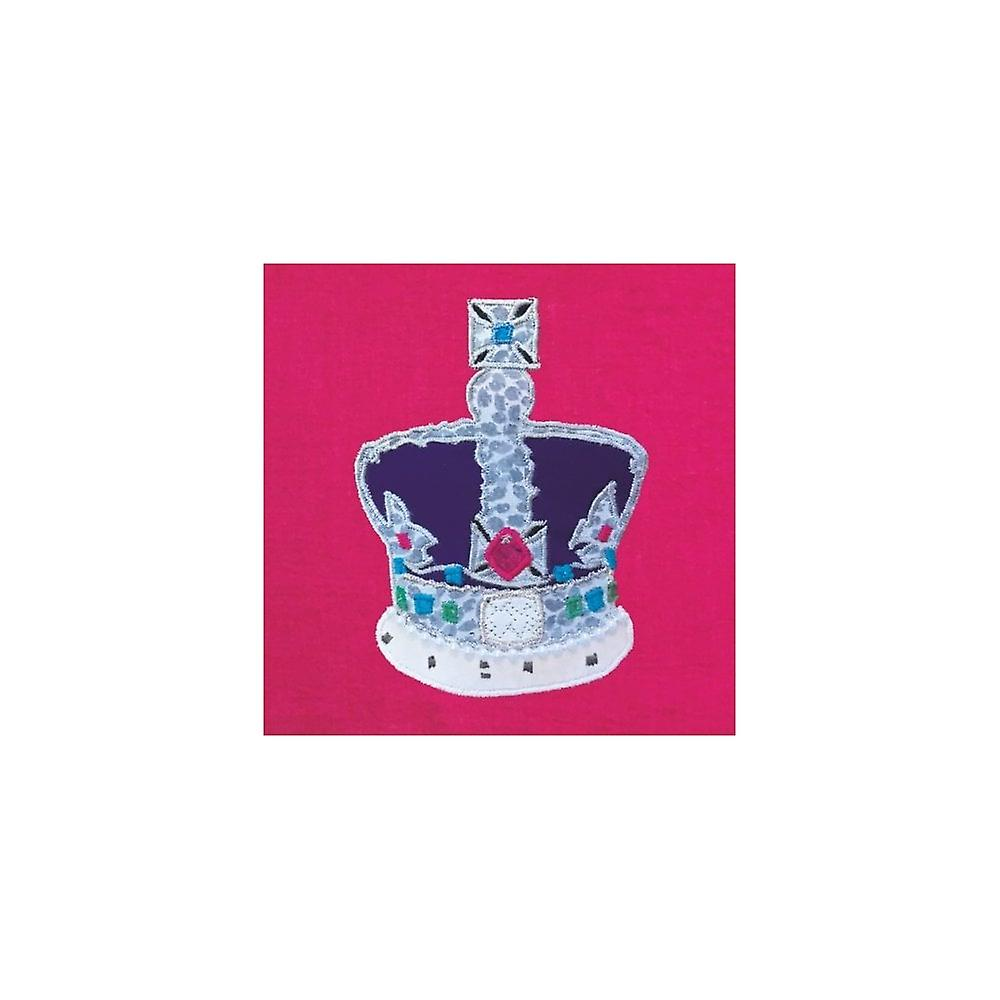 Union Jack Wear Imperial State Crown Birthday Card