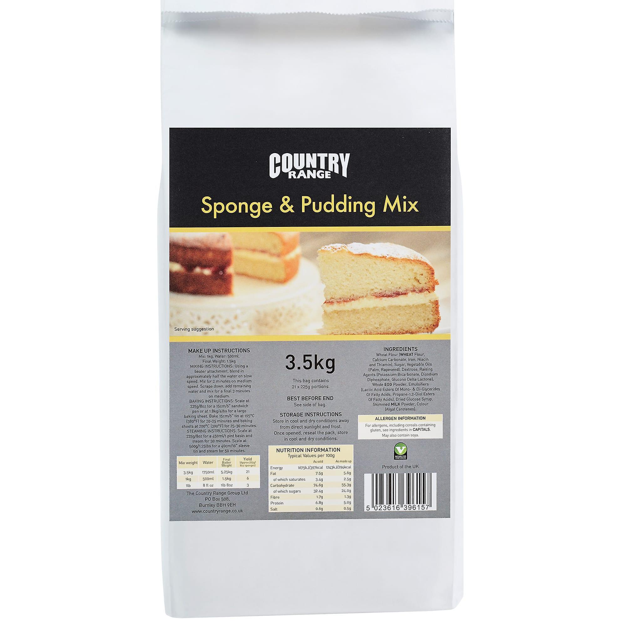 Country Range Sponge & Pudding Mix