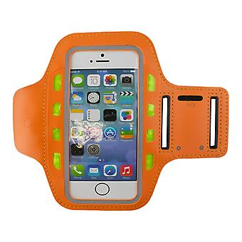 LED Sports bracelet for Smartphone-Orange