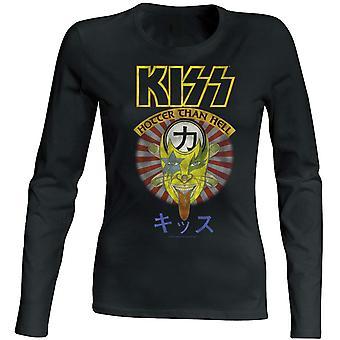 Kiss - heter dan de hel vrouwen Longsleeve T-Shirt