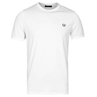 Fred Perry White Ringer T-Shirt