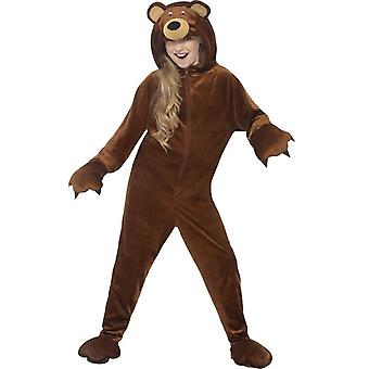 Bear Costume, Medium Age 7-9