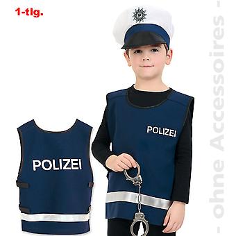 Poliția costum copii politist vest de urgență ofițer de poliție costum de copii