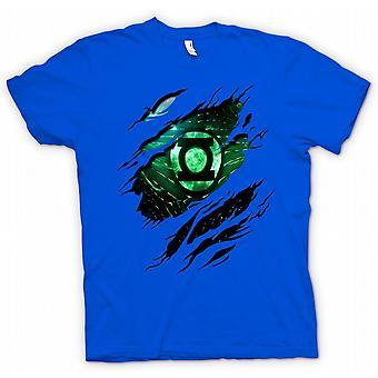 Koszulka męska - Zielona Latarnia - Superhero zgrywanie Design