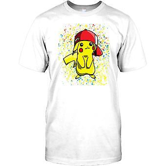 Pikachu Pop Art Design - Pokemon geïnspireerd kinderen T Shirt
