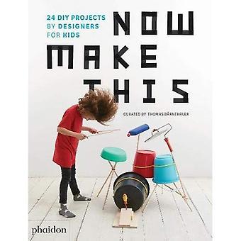 Nu gör detta: 24 DIY projekt av Designers för barn