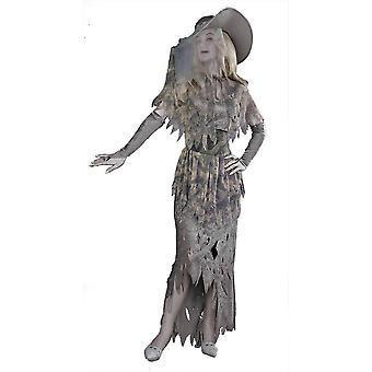 Grey Ghost Female Adult Costume