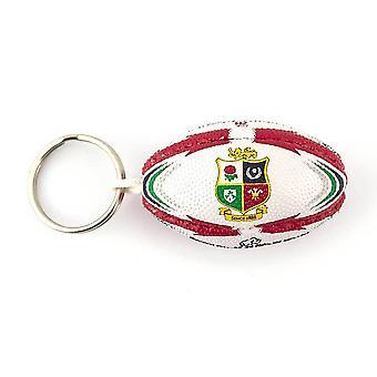 RHINO lions britanniques replica rugby ballon keyring