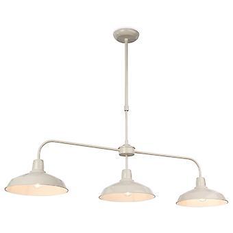 Erstlicht-3 Light Ceiling Pendant Cream-3407CR