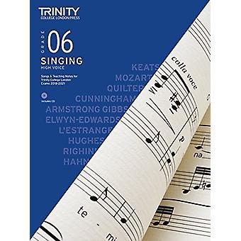 Trinity College London Singing Grade 6 High Voice 2018-2021 - 9780857
