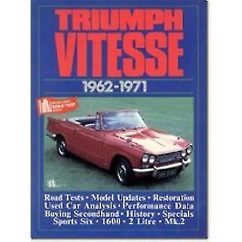 Triumph Vitesse - 1962-71 by R. M. Clarke - 9781855200500 Book