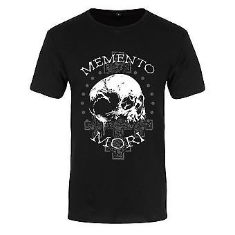 Grindstore Mens Memento Mori Premium T-paita