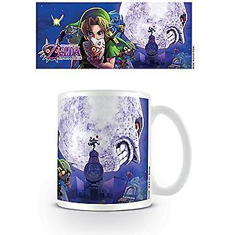 The Legend of Zelda Multi Coloured 11oz/315ml Majoras Mask Moon Ceramic Mug