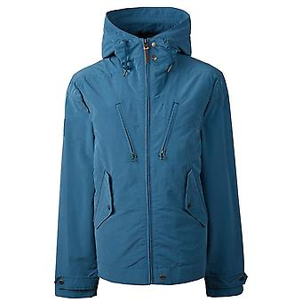 PRETTY GREEN Blue Zipthrough À capuchon 4 Veste de poche