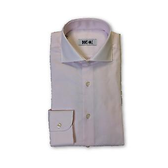 Ingram shirt in pink subtle circle pattern