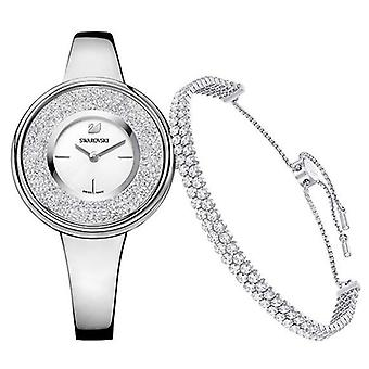 Swarovski Crystalline Pure Set - Bracelet And Ladies Watch 5380026