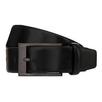 MONTI MARRAKESCH Belt Men's Belt Leather Belt Black 8043