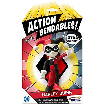 Action Figures - DC Comics - Harley Quinn Bendable New ab-5014
