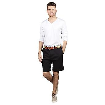 Slim fit chino shorts – navy