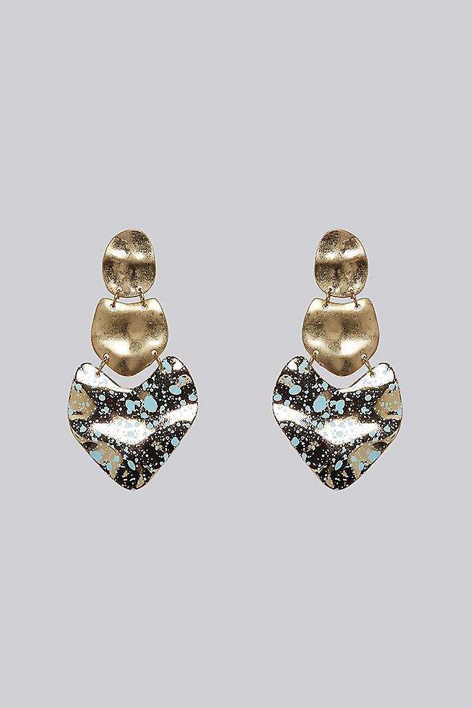 Louche Asher Earring Gold
