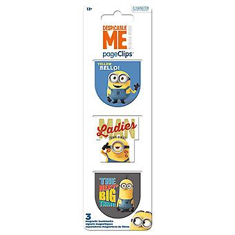 Magnetic Page Clips - Despicable Me - Stationery New bm4629