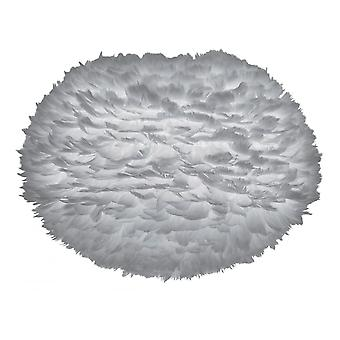 Umage EOS Feather vedhæng skygge-lysegrå-stor-65cm