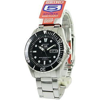 Seiko 5 Sport automatische 23 Juwelen Japan gemacht Snzf17 Snzf17j1 Snzf17j Men's Uhr