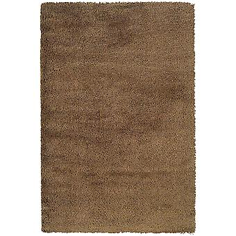 Loft collection 520j4 gold solid area rug (6'7